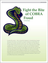 COBRA fraud